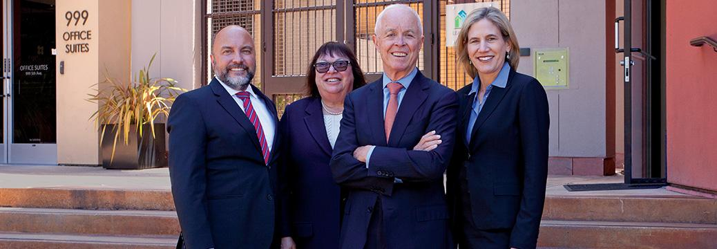 Marin family law associates outside building